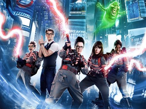 Wallpaper Ghostbusters, 2016 Movies, Action, Comedy