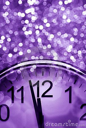 Purple New Year's Abstract Background Stock Photos - Image