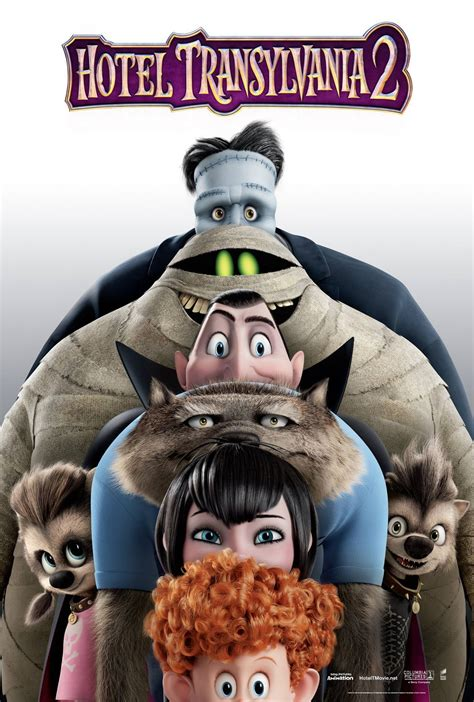 A New Hotel Transylvania 2 Poster Features a Monstrous